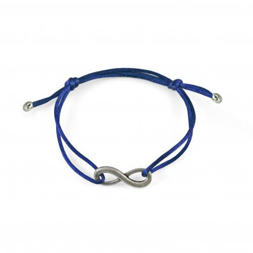 Armband Infinity Marine silver - zilver kleur