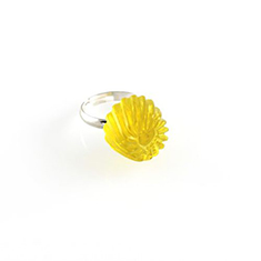 Jelly ring geel