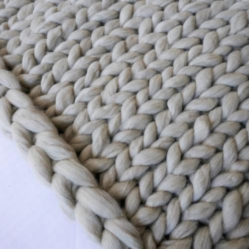 904467c0f88e3b XXL chunky knit plaid 100% merino wol - op maat gemaakt ☆ Look at ...